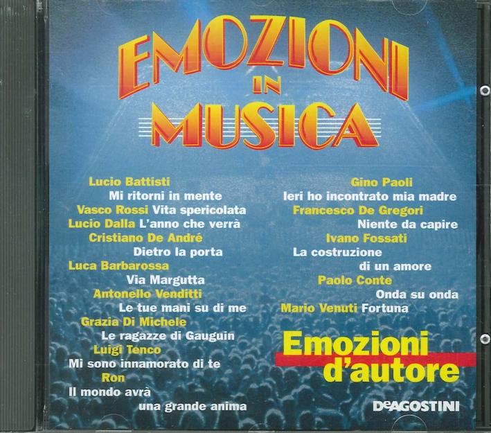 Emozioni in Musica - Emozioni d'Autore CD.