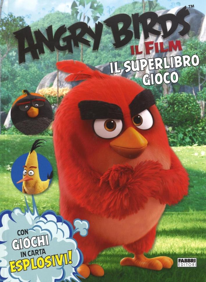 Angry birds. Il film. Il superlibro gioco. Ediz. a colori