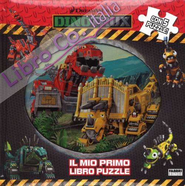 Dinotroux. Il mio primo libro puzzle. Ediz. a colori
