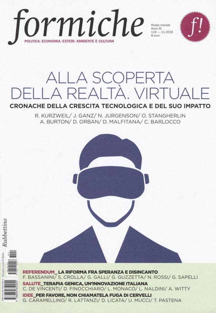 Formiche (2016). Vol. 119: Alla scoperta della realtà virtuale