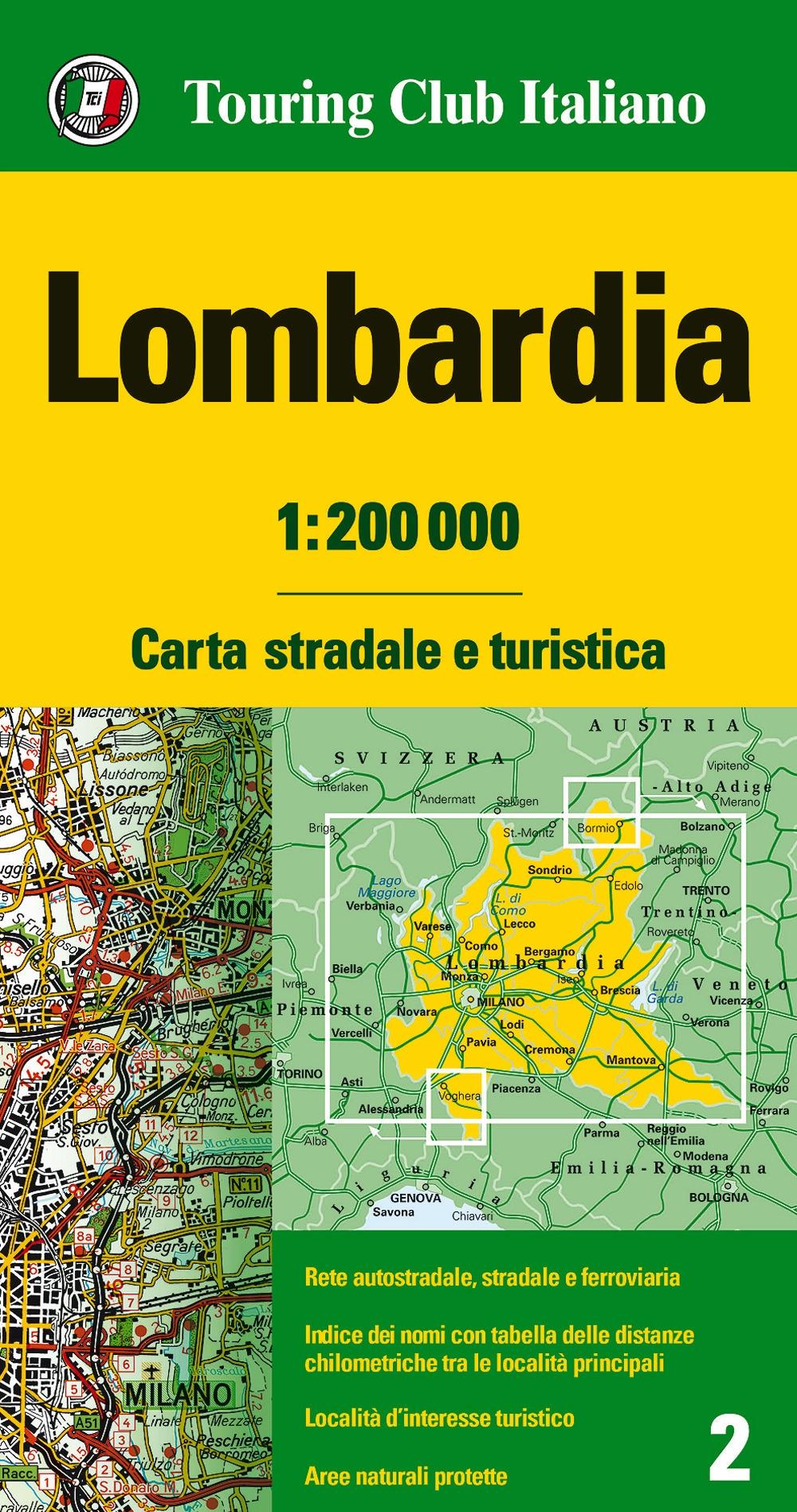 Lombardia 1:200.000