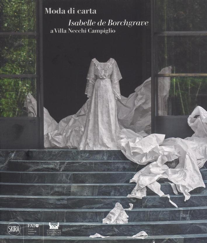 Moda di carta. Isabelle de Borchgrave a Villa Necchi Campiglio
