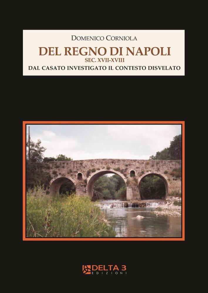 Del Regno di Napoli Sec. XVII-XVIII. dal Casato Investigato il Contesto Disvelato