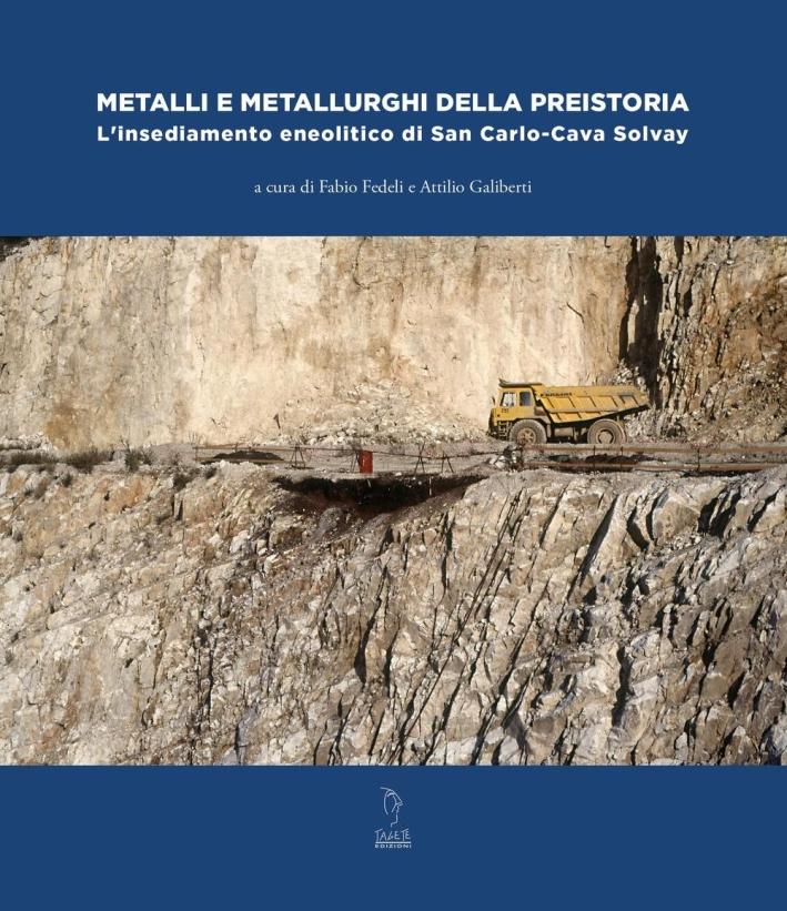 Metalli e metallurghi della preistoria. L'insediamento eneolitico di San Carlo-Cava Solvay