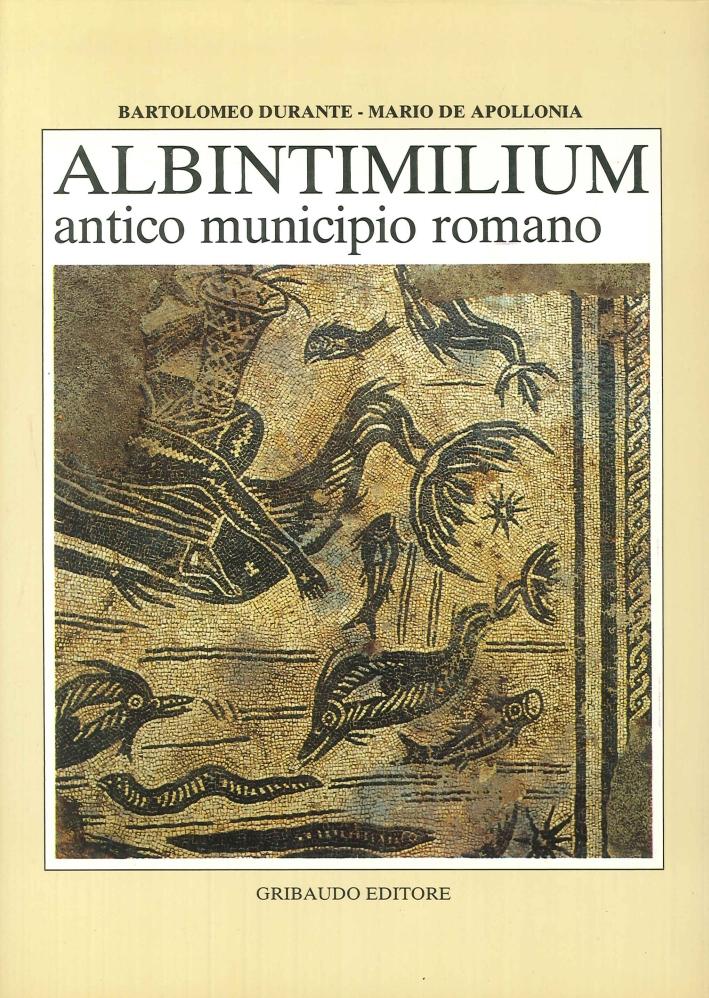 Albintimilium Antico Municipio Romano