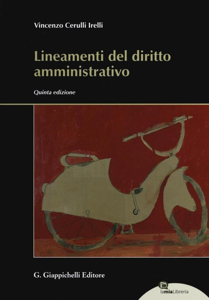 Lineamenti Diritto Amministrativo.