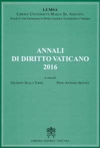 Annali di diritto vaticano (2016)