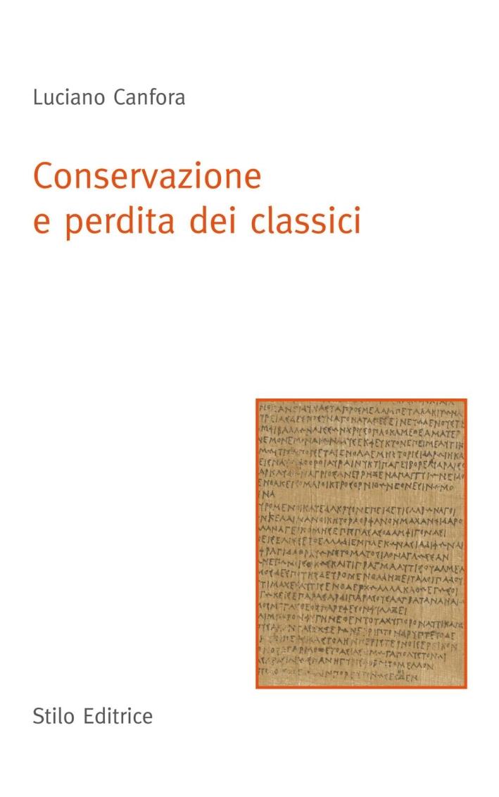 Conservazione e perdita dei classici