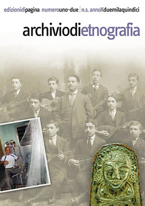Archivio di etnografia vol. 1-2 (2015)