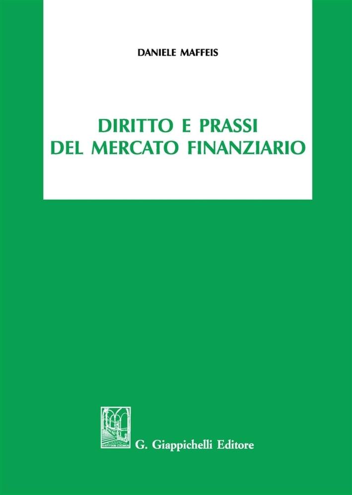 DIRITTO E PRASSI MERCATO FINANZIARIO.