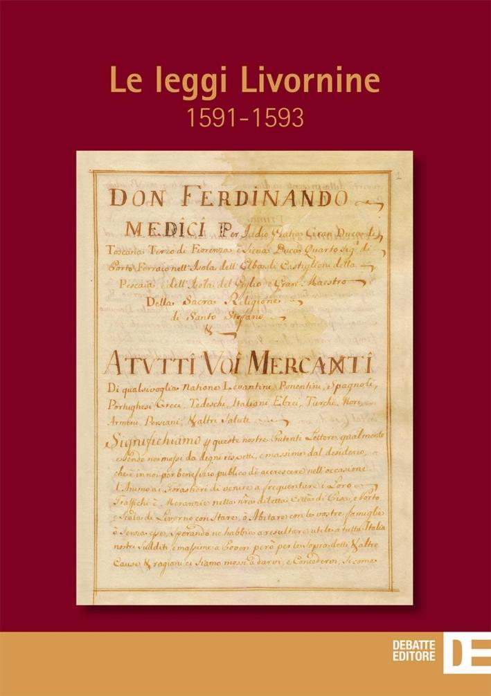 Le leggi Livornine (1591-1593)