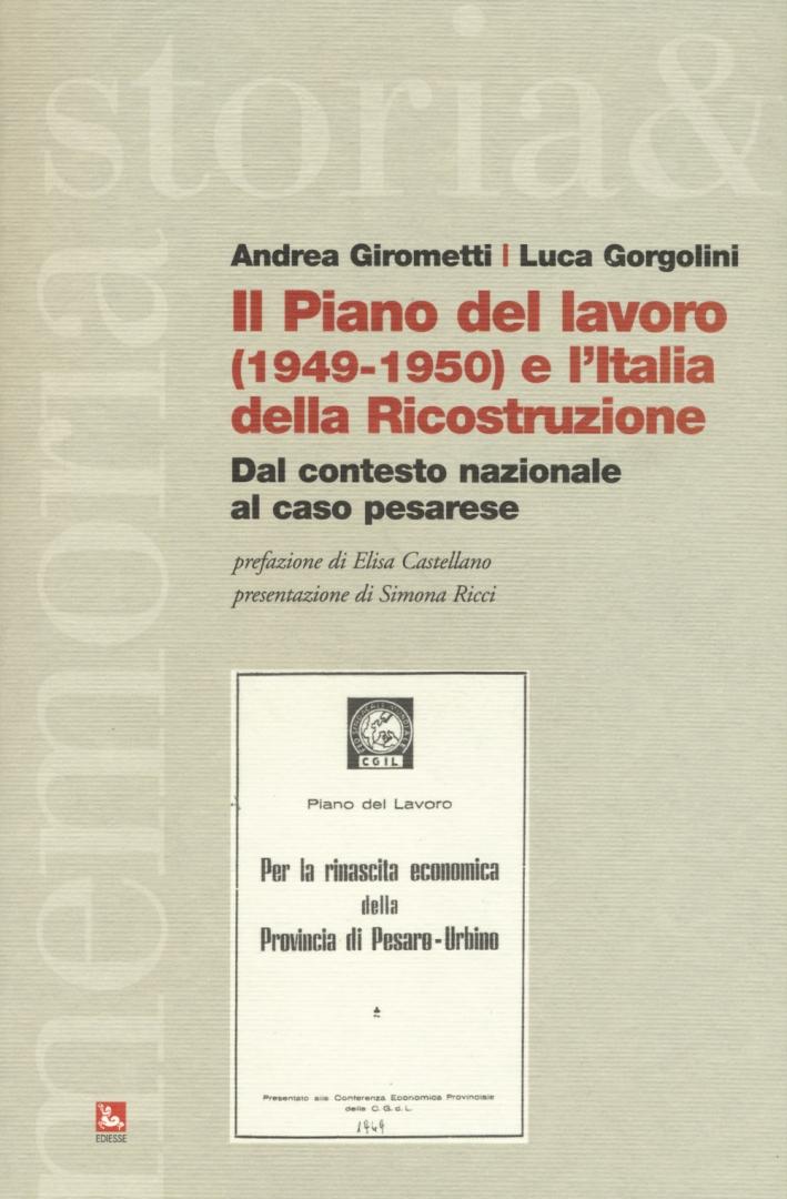 Piano del lavoro e l'Italia della ricostruzione