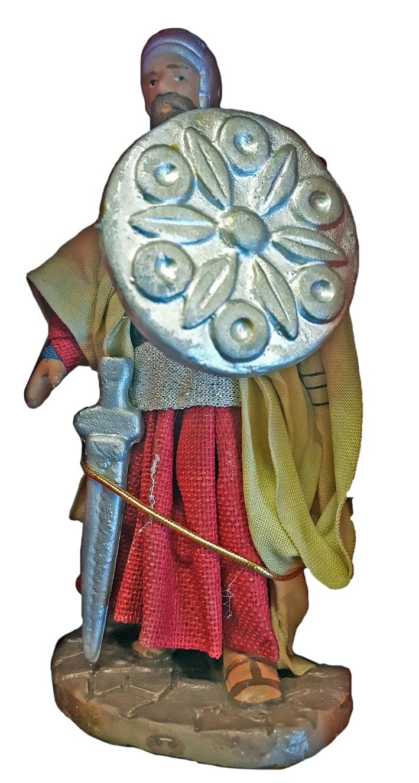 Il mondo del presepe. Statuetta in porcellana. Re Magio. 1. Cm 10x6.