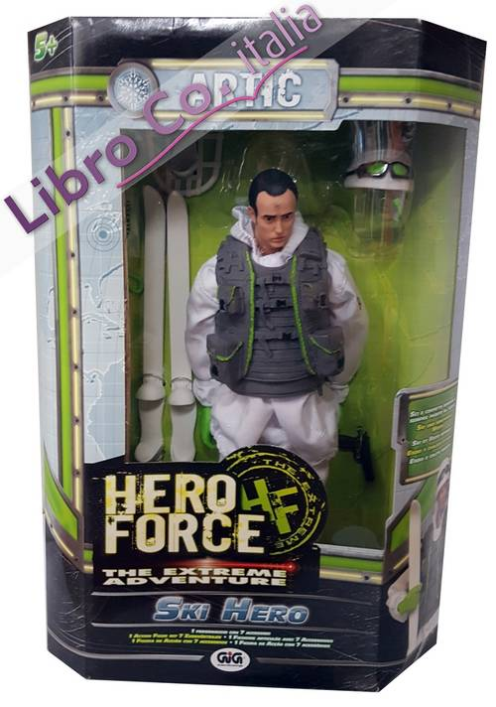Personaggio Hero Force. The extreme adventure.