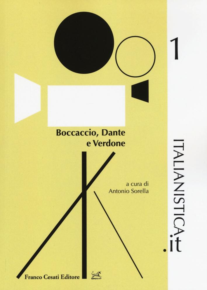 Boccaccio, Dante e Verdone