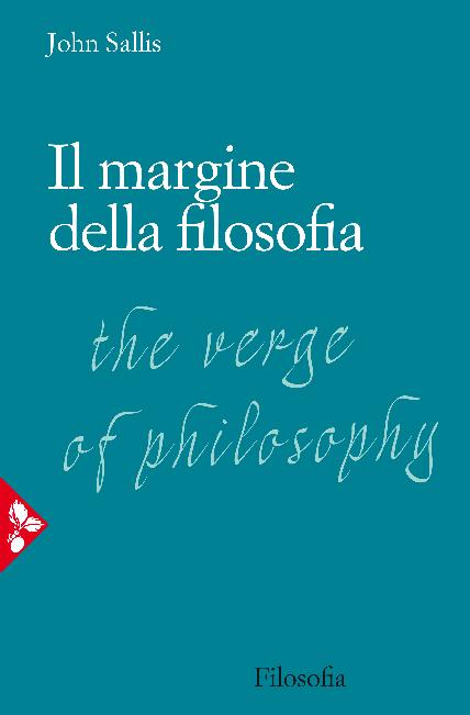 the verge of philosophy sallis john