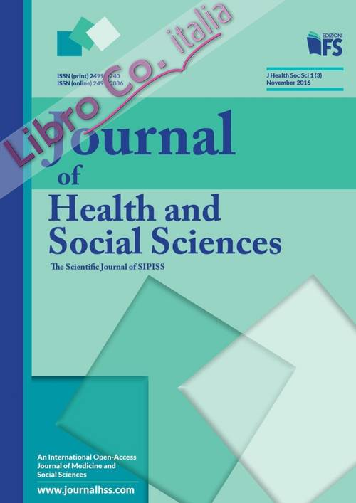 Journal of health and social sciences. November 2016
