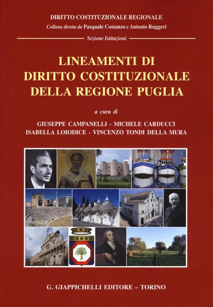 Lineamenti di diritto costituzionale della regione Puglia