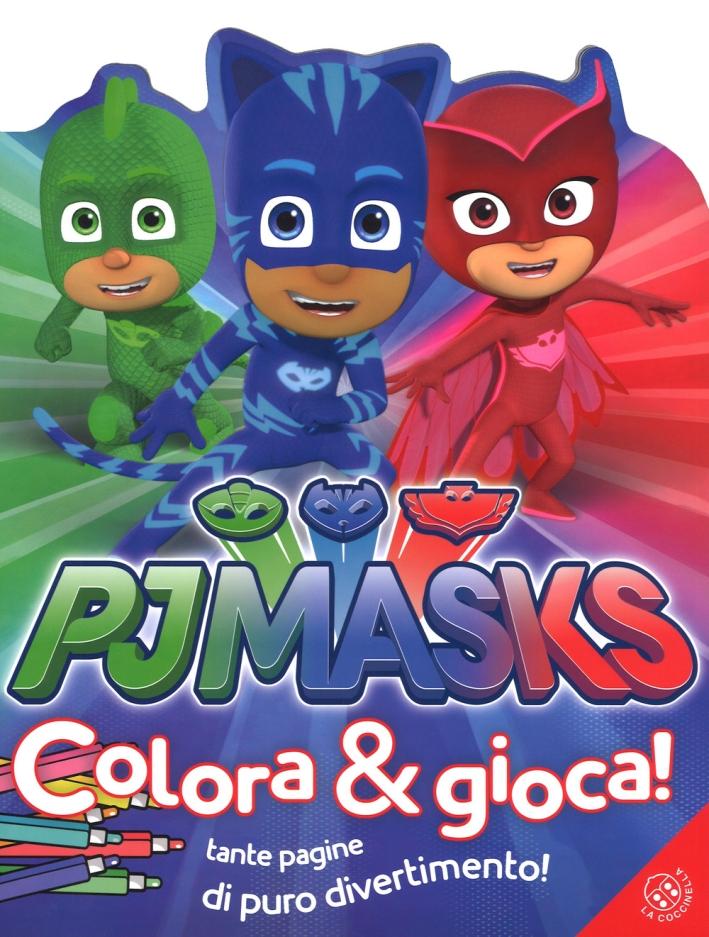 Pj Masks. Colora e gioca! Ediz. a colori