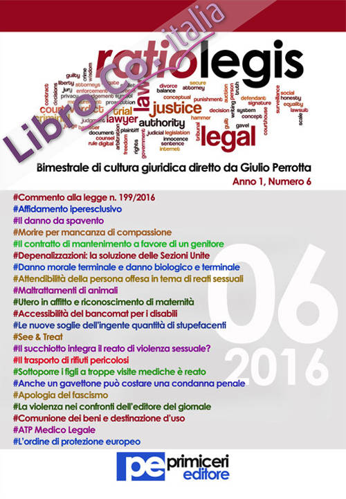 Ratio legis (2016). Vol. 6