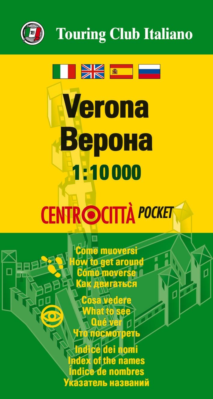 Verona 1:10.000. Ediz. multilingue