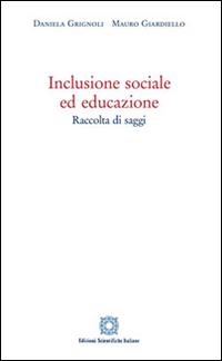 Inclusione sociale ed educazione