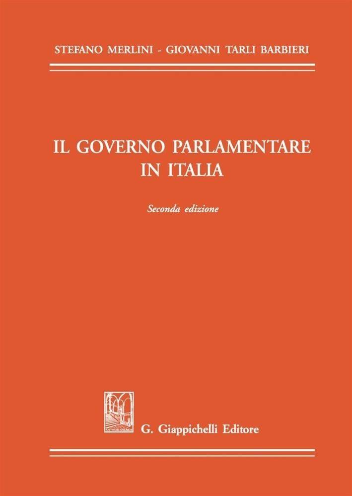 Il governo parlamentare in Italia