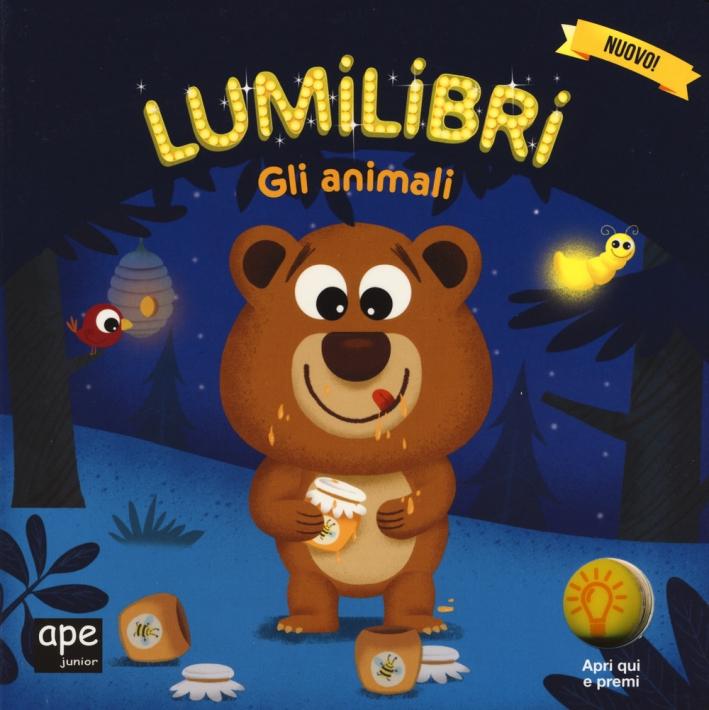 Libro luminoso animali