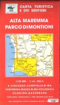Alta Maremma e Parco Di Montioni. Scala 1:25.000. 507