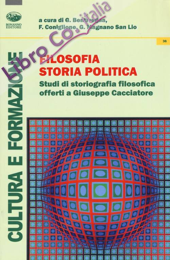 Filosofia storia politica