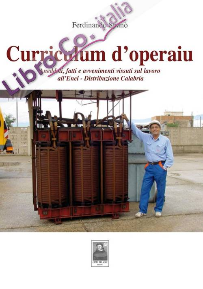 Curriculum d'operaiu. Aneddoti, fatti e avvenimenti vissuti sul lavoro all'Enel-Distribuzione Calabria