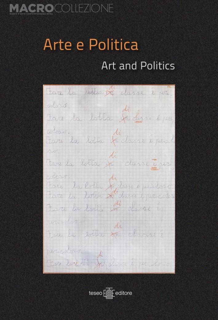Arte e politica. Ediz. italiana e inglese
