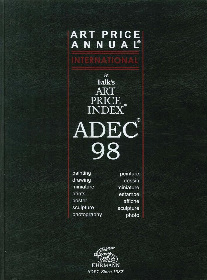Adec 98: Art Price Annual and Falk's Art Price Index