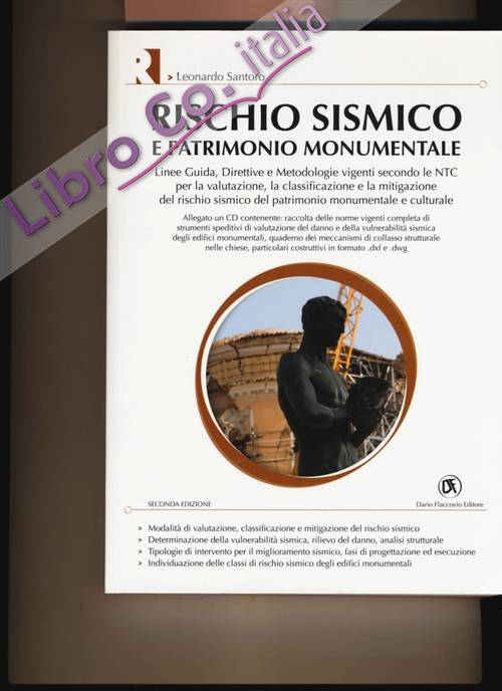 Rischio sismico e patrimonio monumentale. Ediz. illustrata. Con CD-ROM