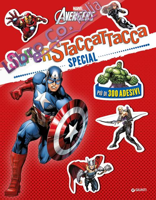 Marvel Avengers. Superstaccattacca special. Con adesivi