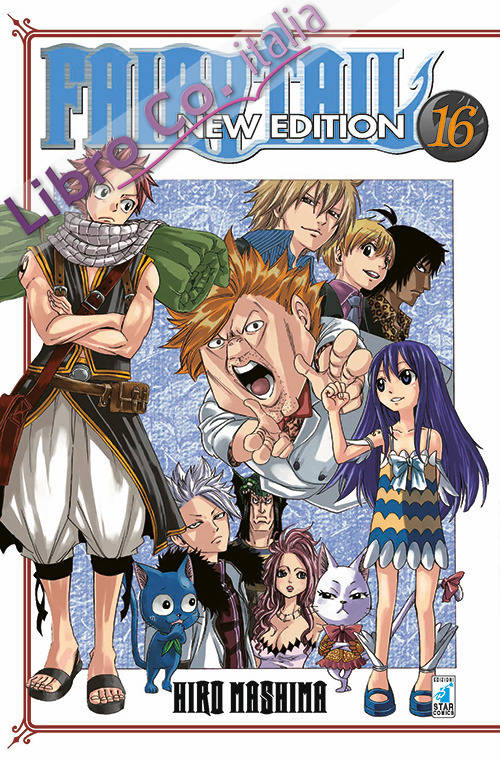 Fairy Tail. New edition. Vol. 16
