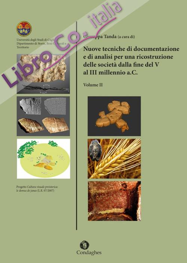 Nuove tecniche di documentazione e di analisi per una ricostruzione delle società dalla fine del V al III millennio a.C. . Vol. 2