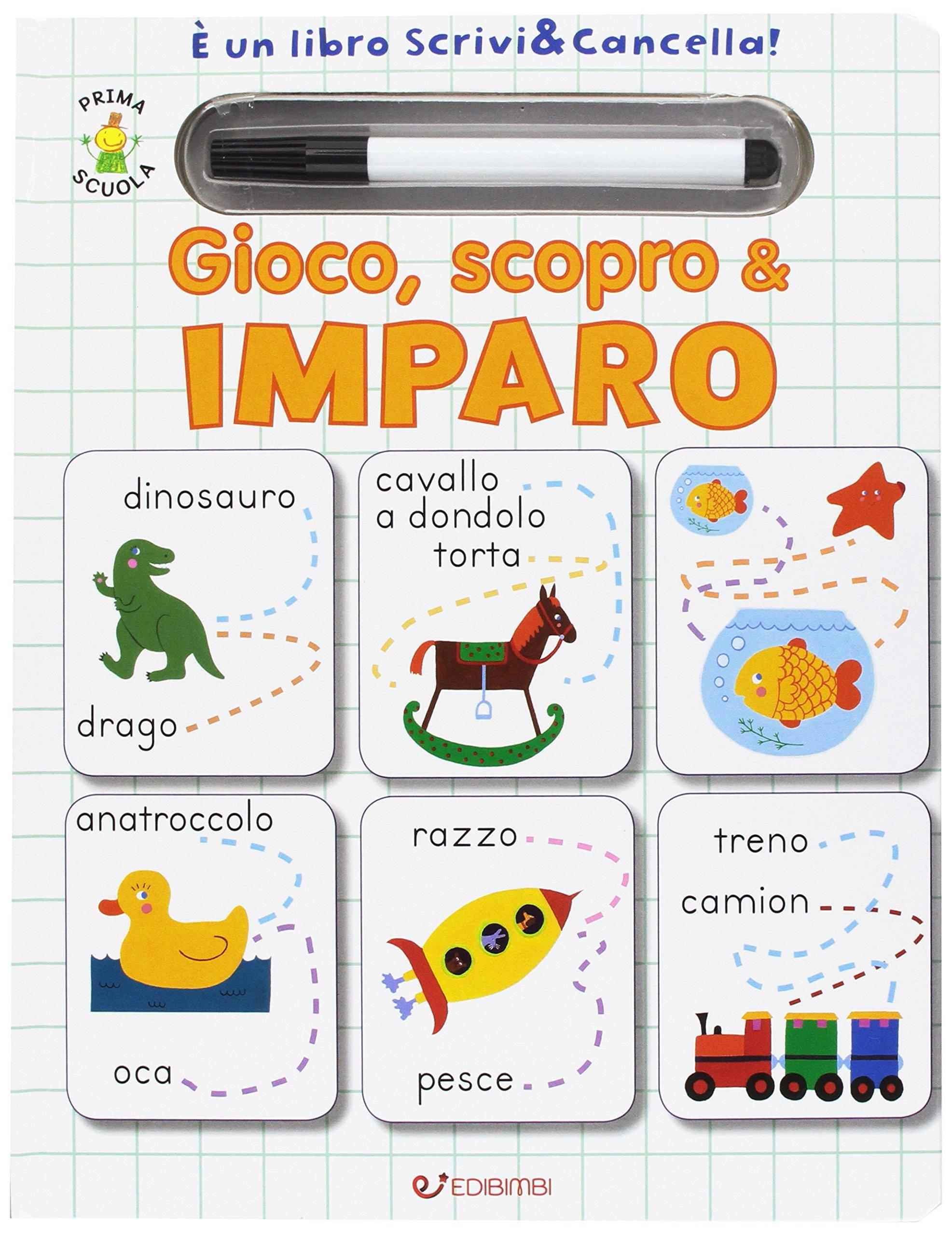 Gioco, scopro & imparo. Prima scuola. Libri didattici. Ediz. illustrata. Con gadget