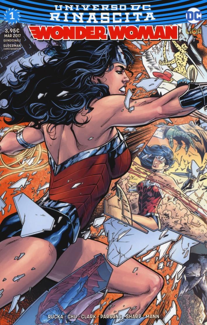 Rinascita. Wonder Woman. Vol. 1