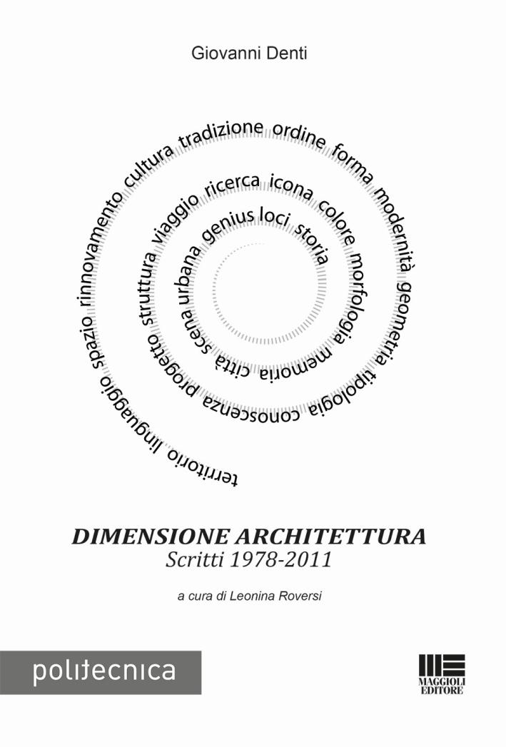 Dimensione architettura