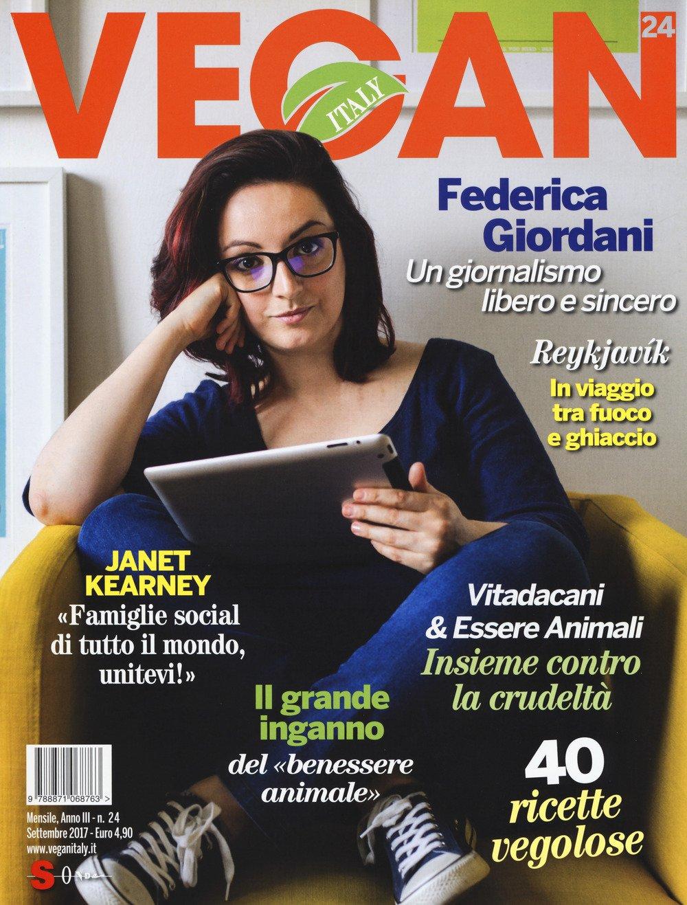 Vegan Italy (2017). Vol. 24: Settembre