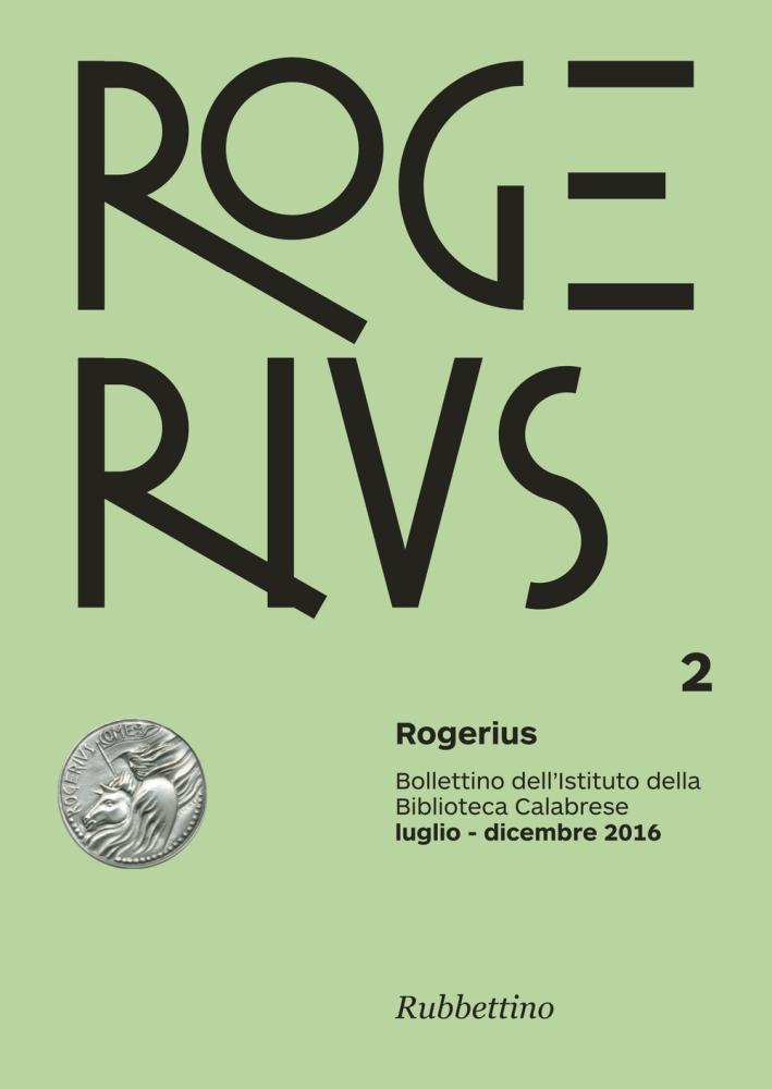 Rogerius (2016). Vol. 2