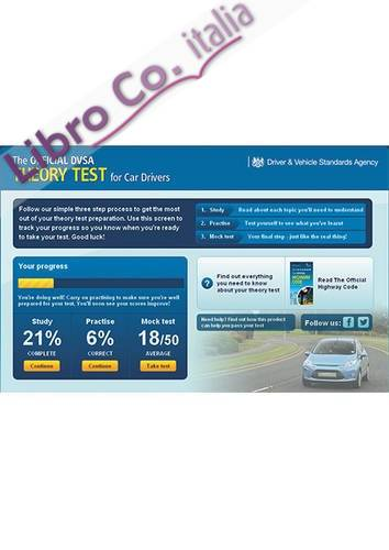 Official DVSA Theory Test for Car Drivers Online - 1 Month A