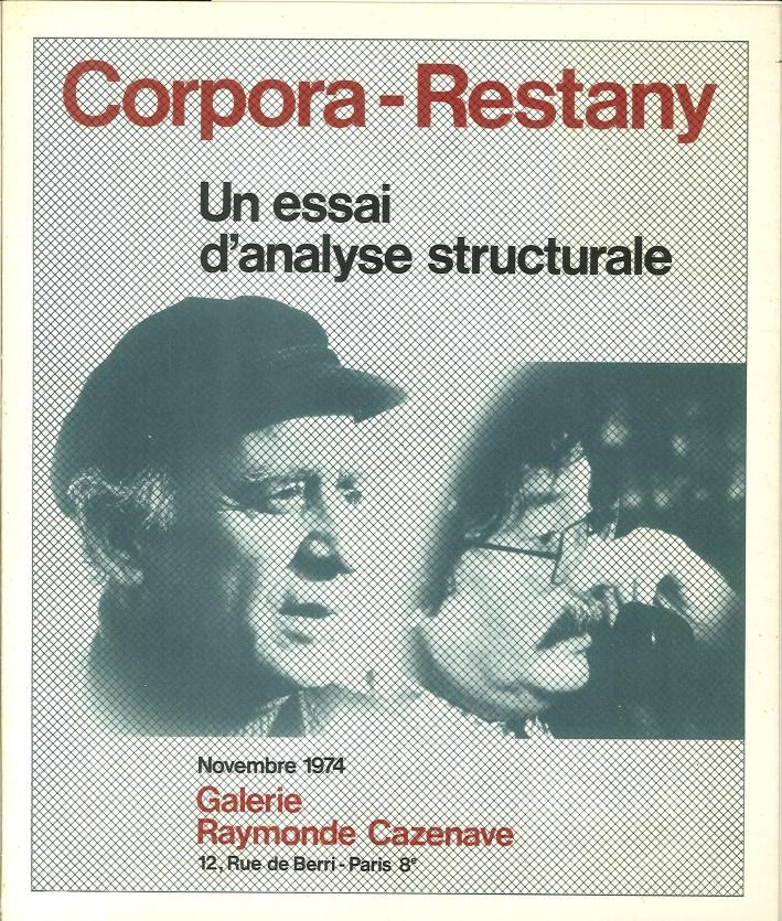 Corpora - Restany, un Essai d'Analyse Structurale