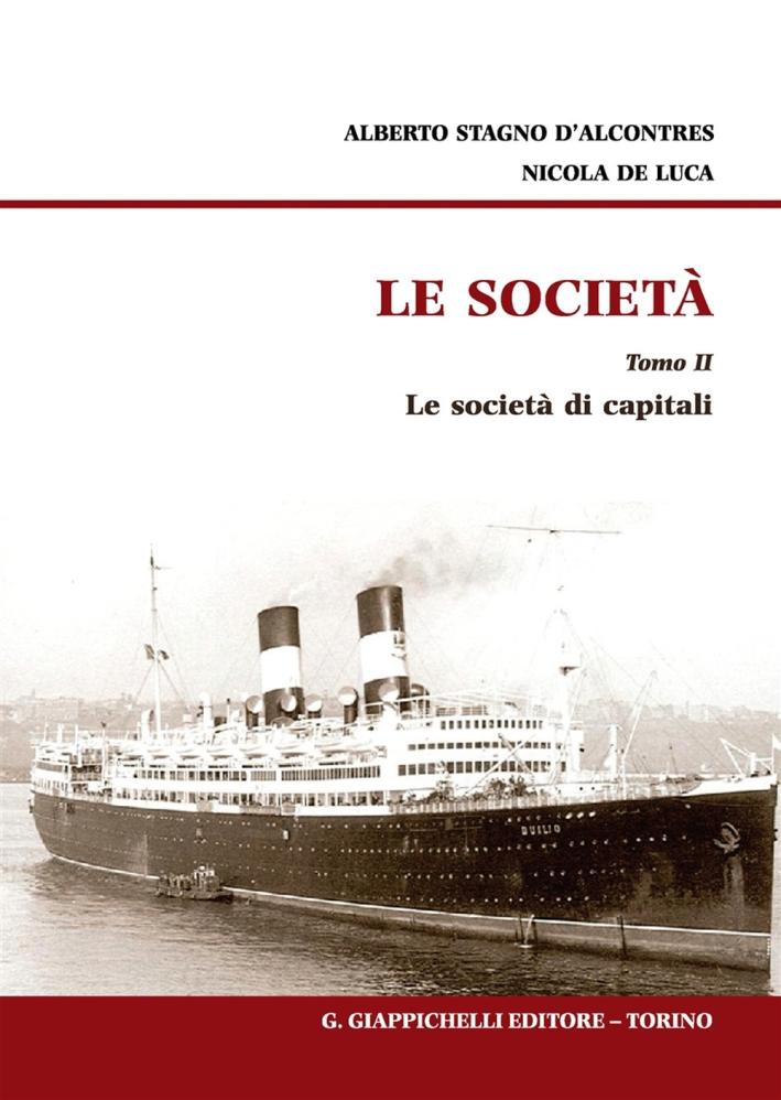 Le società. Vol. 2: Le società di capitali