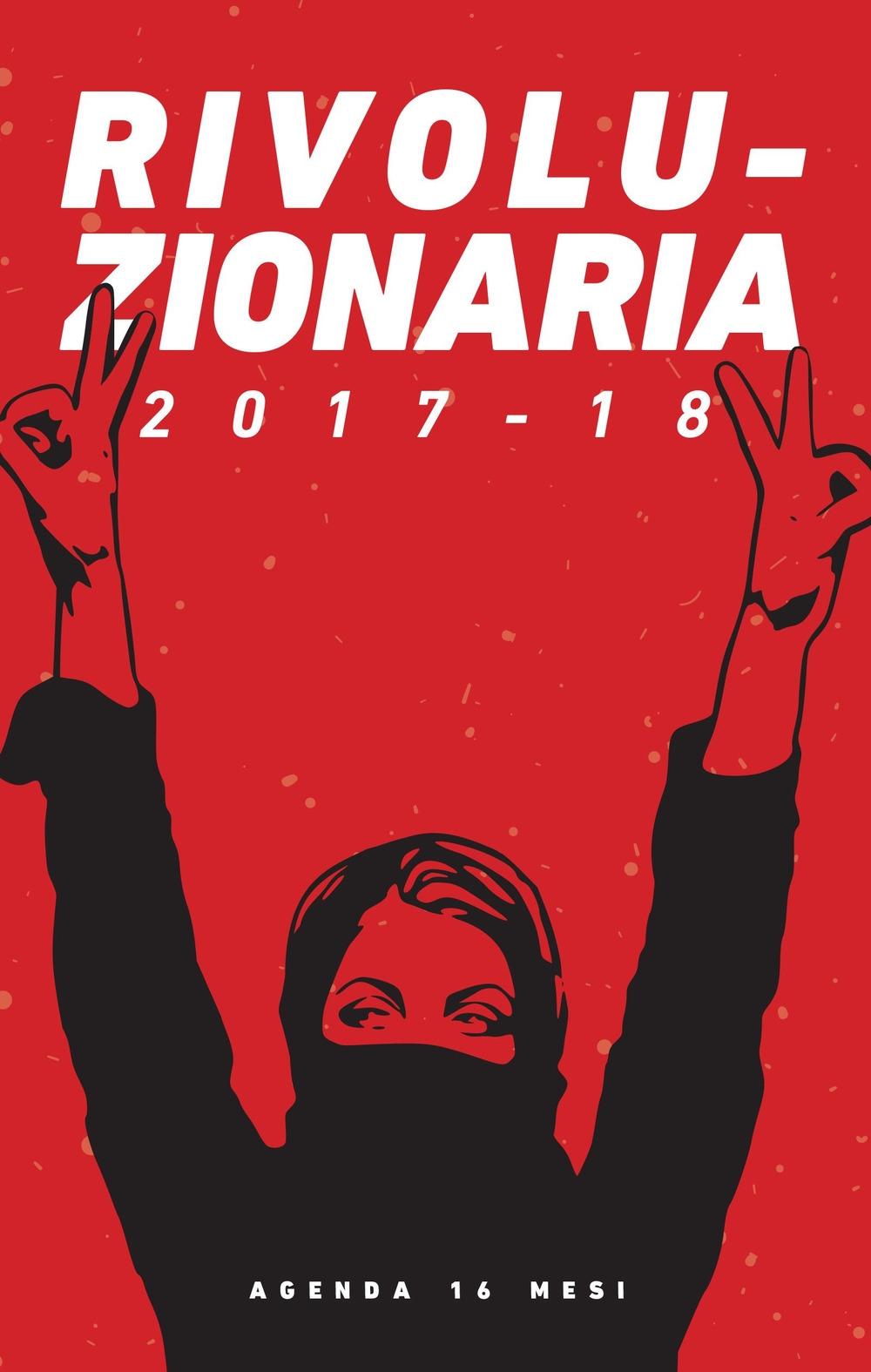 Rivoluzionaria. Agenda 12 mesi