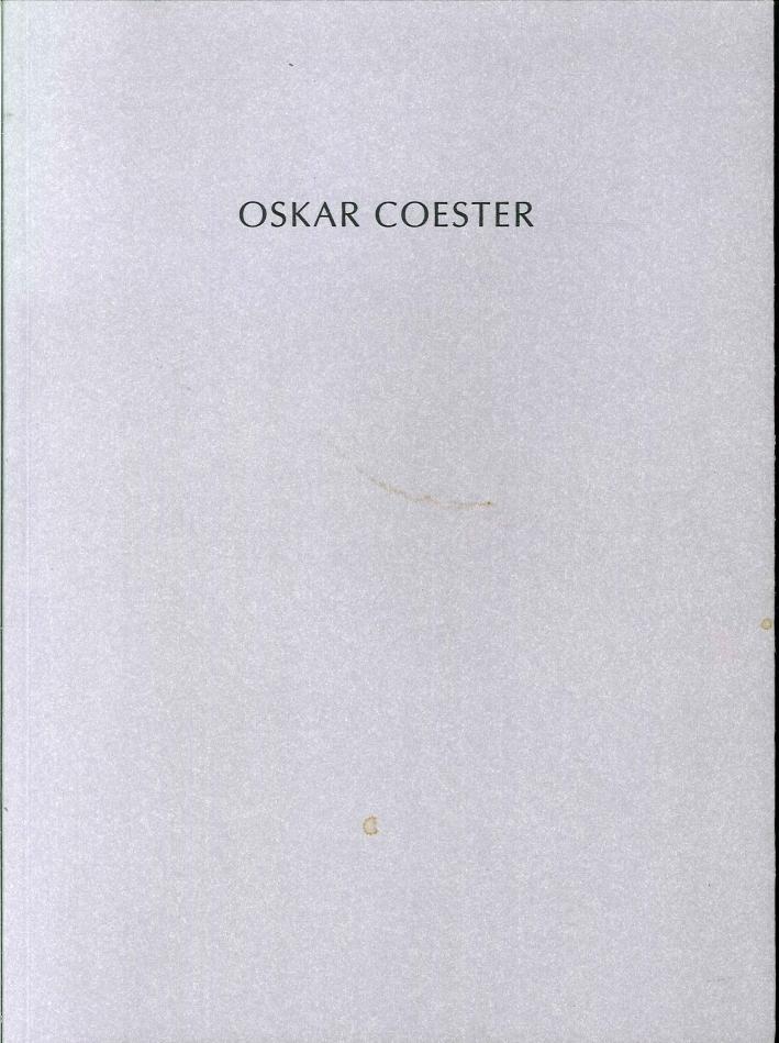 Oskar Coester. Arbeiten Auf Papier Und Bilder.
