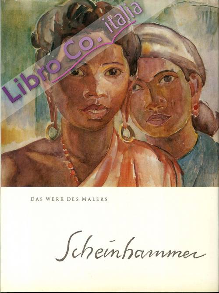 Der Maler Otto Scheinhammer.
