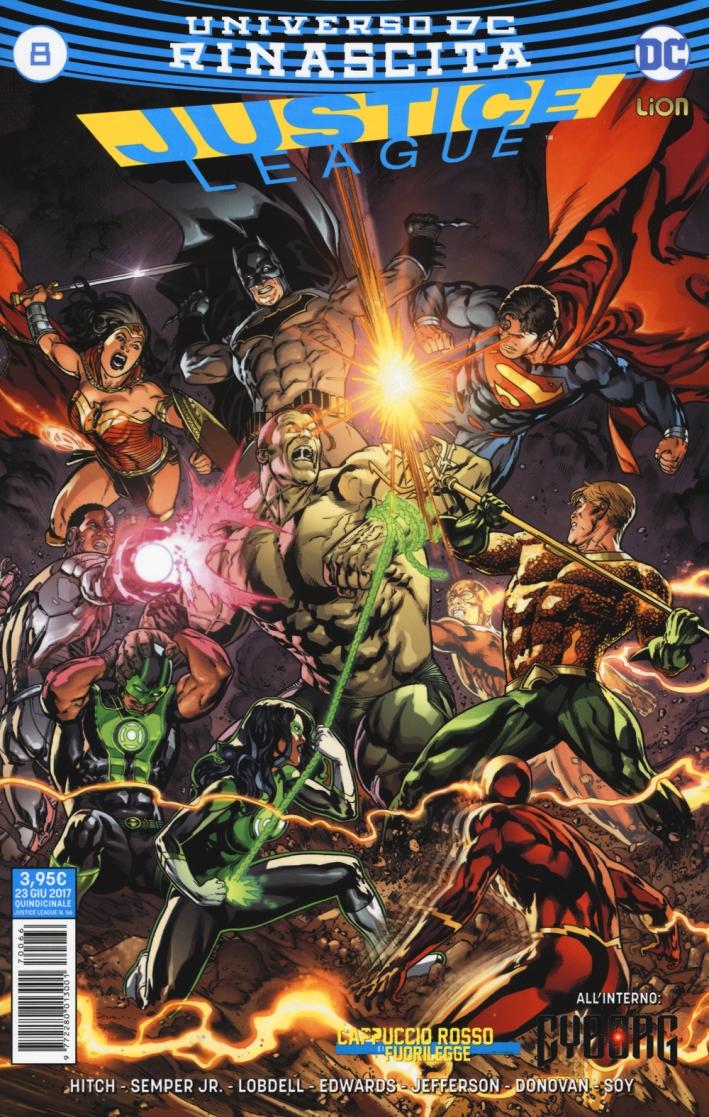 Rinascita. Justice League. Vol. 8