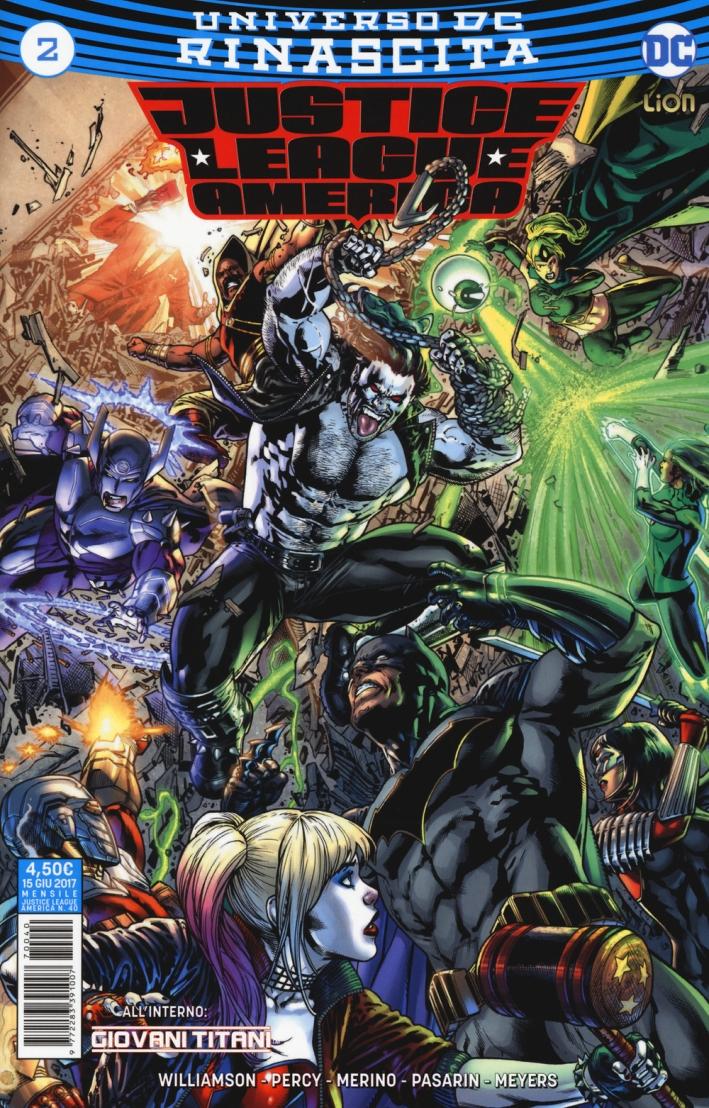 Justice League America. Rinascita. Vol. 2